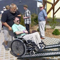 Behindertengerechter Kremser
